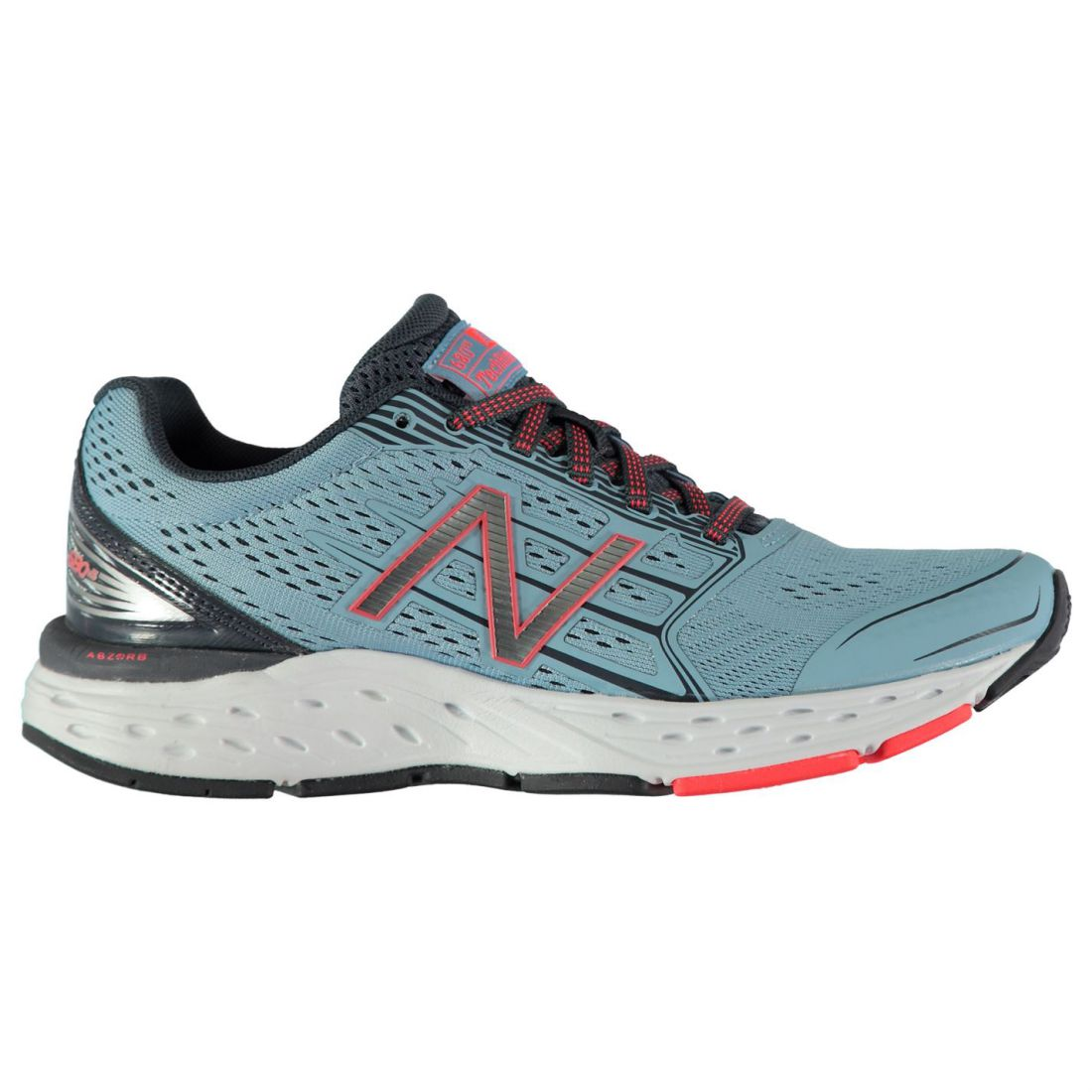 6db42dd35fee New Balance 680 v5 Running Shoes Ladies Road Laces Fastened ...