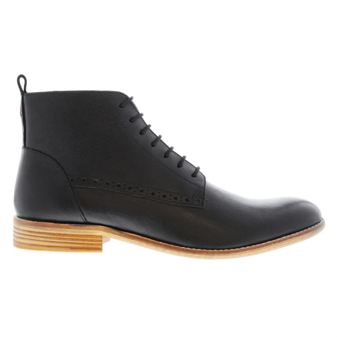 Mens Frank Wright Eden Boots Smart Lace Up New