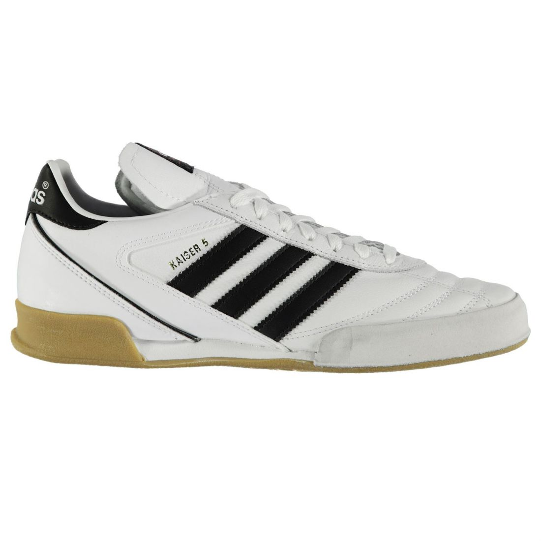 Adidas Mens Kaiser Goal Indoor Football Trainers Lace Up Leather schuhe