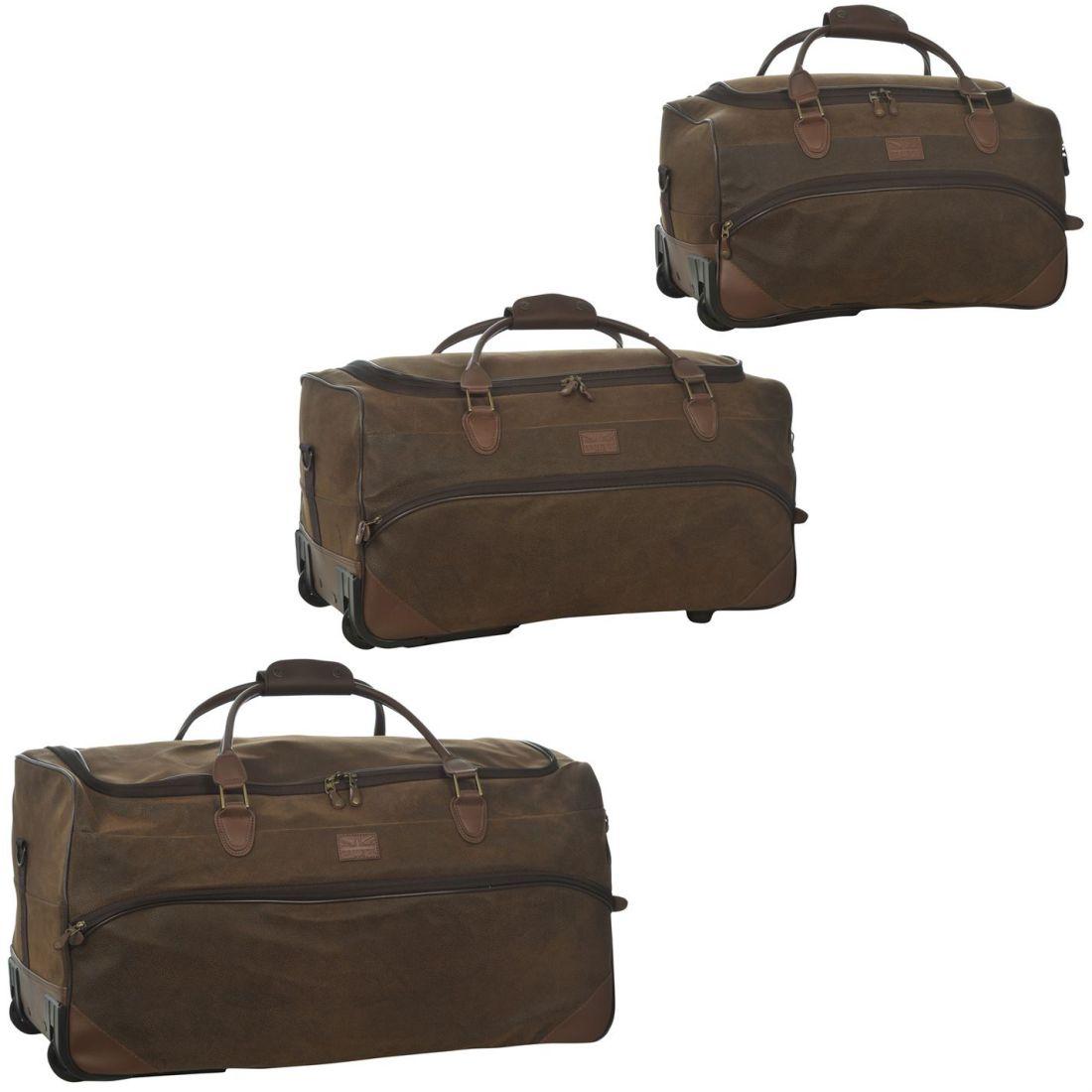 17a35b0c5e Kangol Choc Wheel Set 00 Travel Bag Luggage Wheeled. Kangol Chocolate Wheelie  Holdall Set