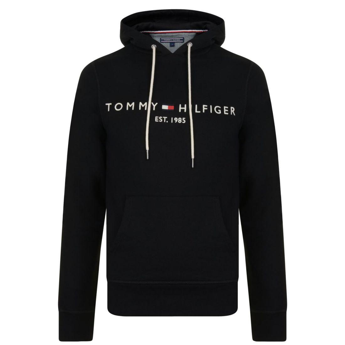 4dbbf16e Image is loading Mens-TOMMY-HILFIGER-Logo-Hooded-Sweatshirt-OTH-Hoodie-