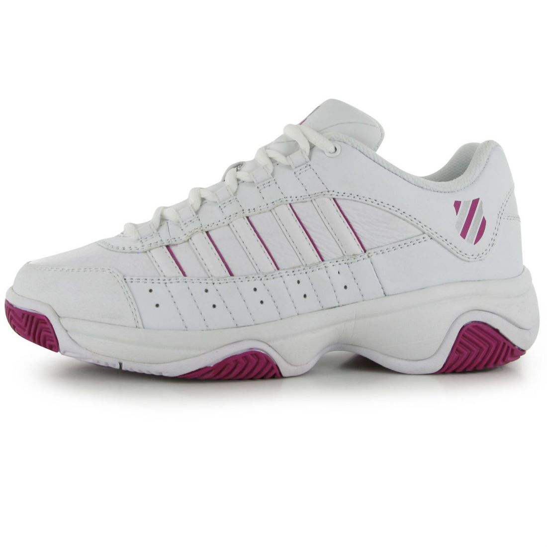 low priced 7f589 564ca K-Swiss-Womens-Court-Blast-Ladies-Tennis-Shoes-