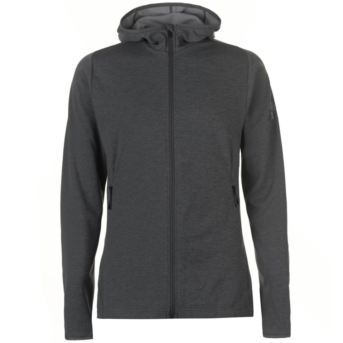 Adidas Zipped Climacool Hoodie Mens Gents Oth Hoody Hooded Top Full Length