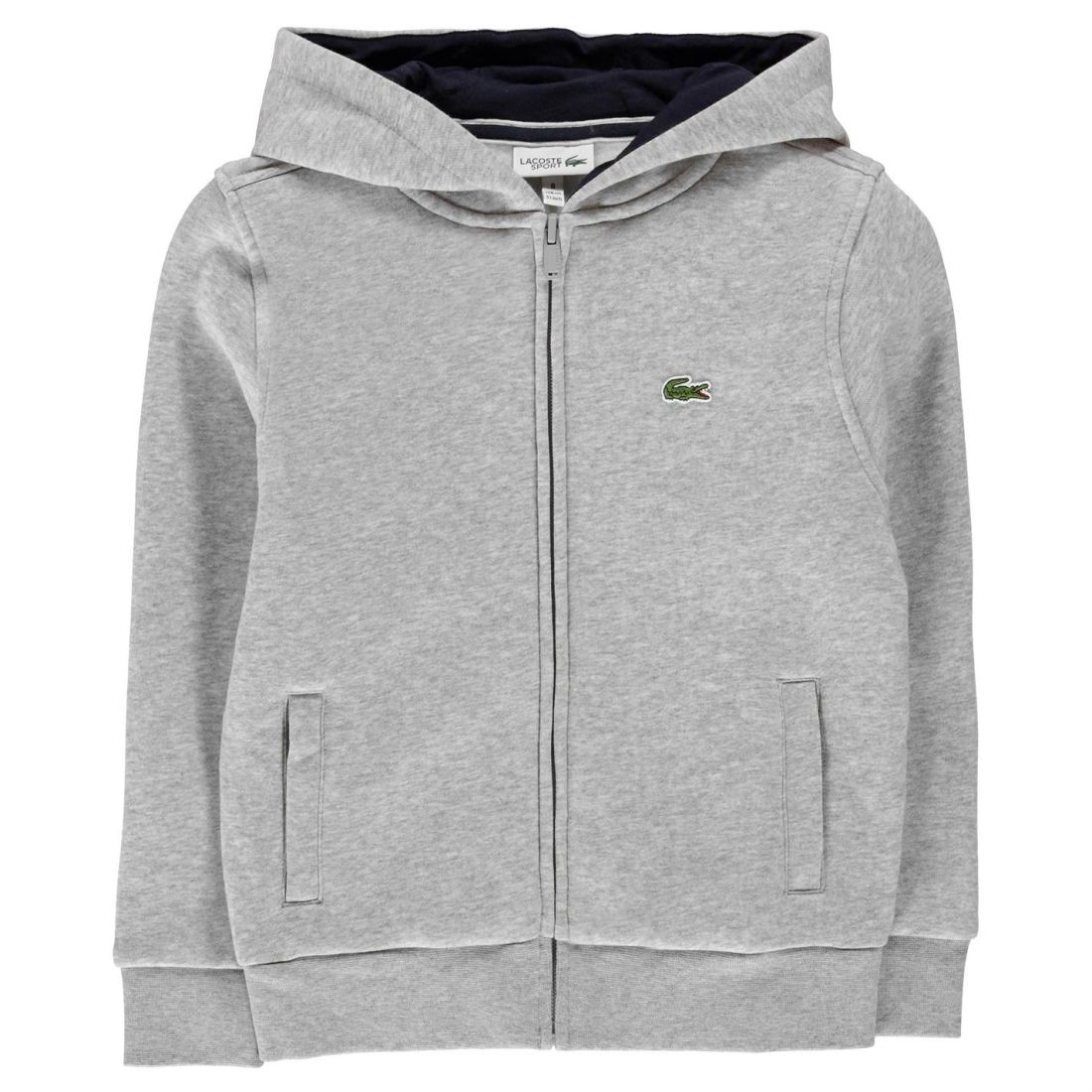 fbbf8a5c14 Details about Kids Lacoste Basic Zip Hoodie Hooded New
