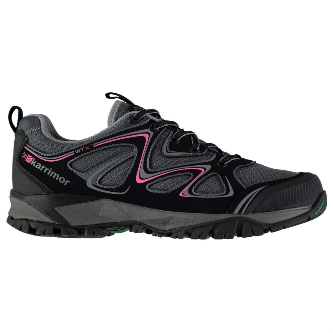 Karrimor Womens Surge WTX Waking shoes Waterproof Lace  Up Padded Ankle Collar  fashion