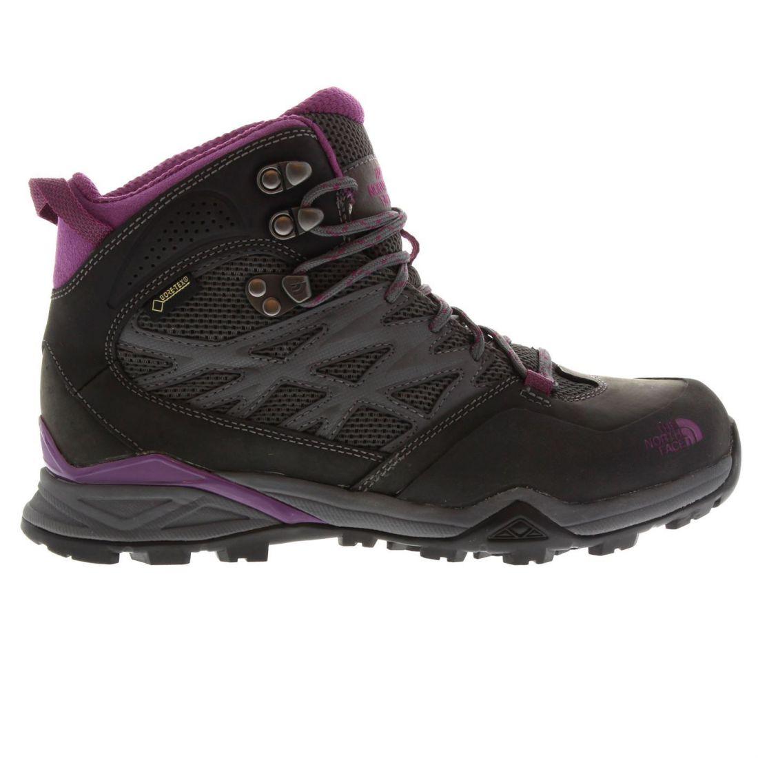 The North Face para dama Erizo GTX MID Zapatos Para Caminar Impermeable Con Cordones