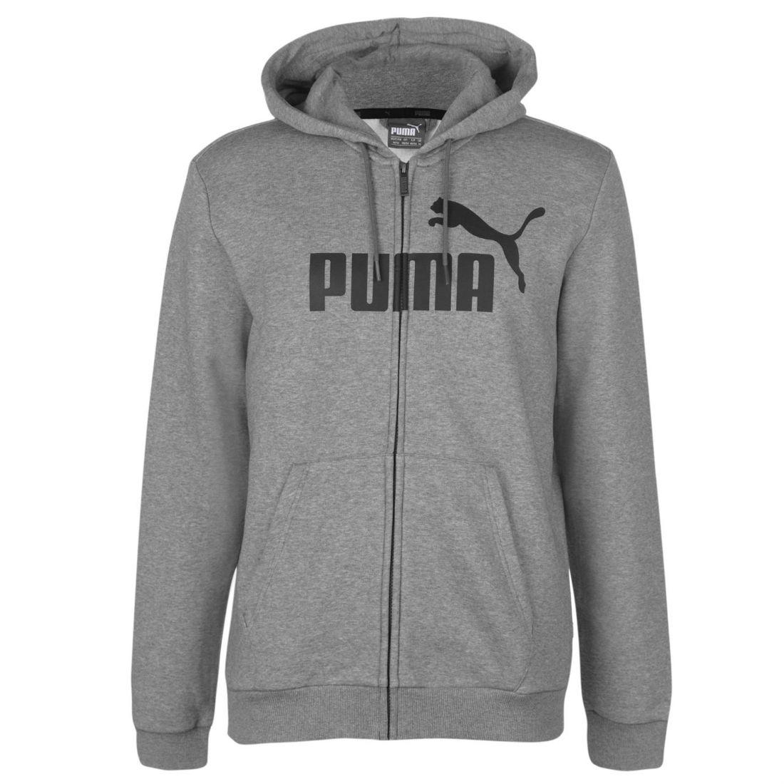577dafd3bf Puma Mens No1 Zip Hoodie Hoody Hooded Top Long Sleeve Lightweight Cotton  Full