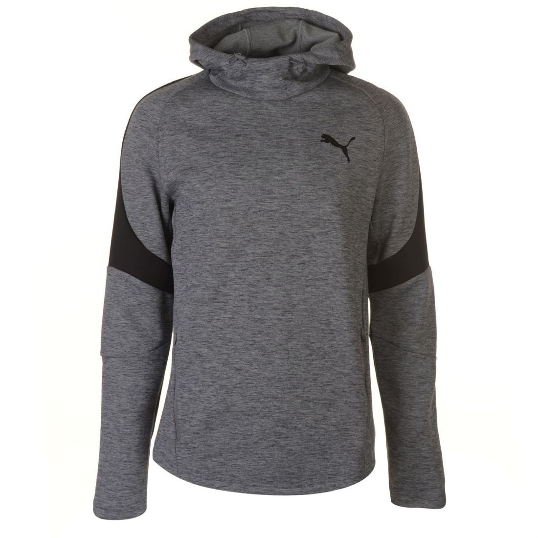 e429b0b855f3 Puma Mens Evostripe OTH Hoody Hoodie Hooded Top Long Sleeve Zip Stripe