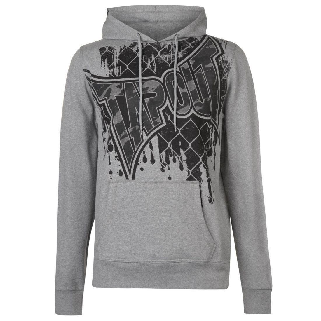 No Fear Mens OTH Hoody Hoodie Hooded Top Long Sleeve Warm Kangaroo Pocket Print