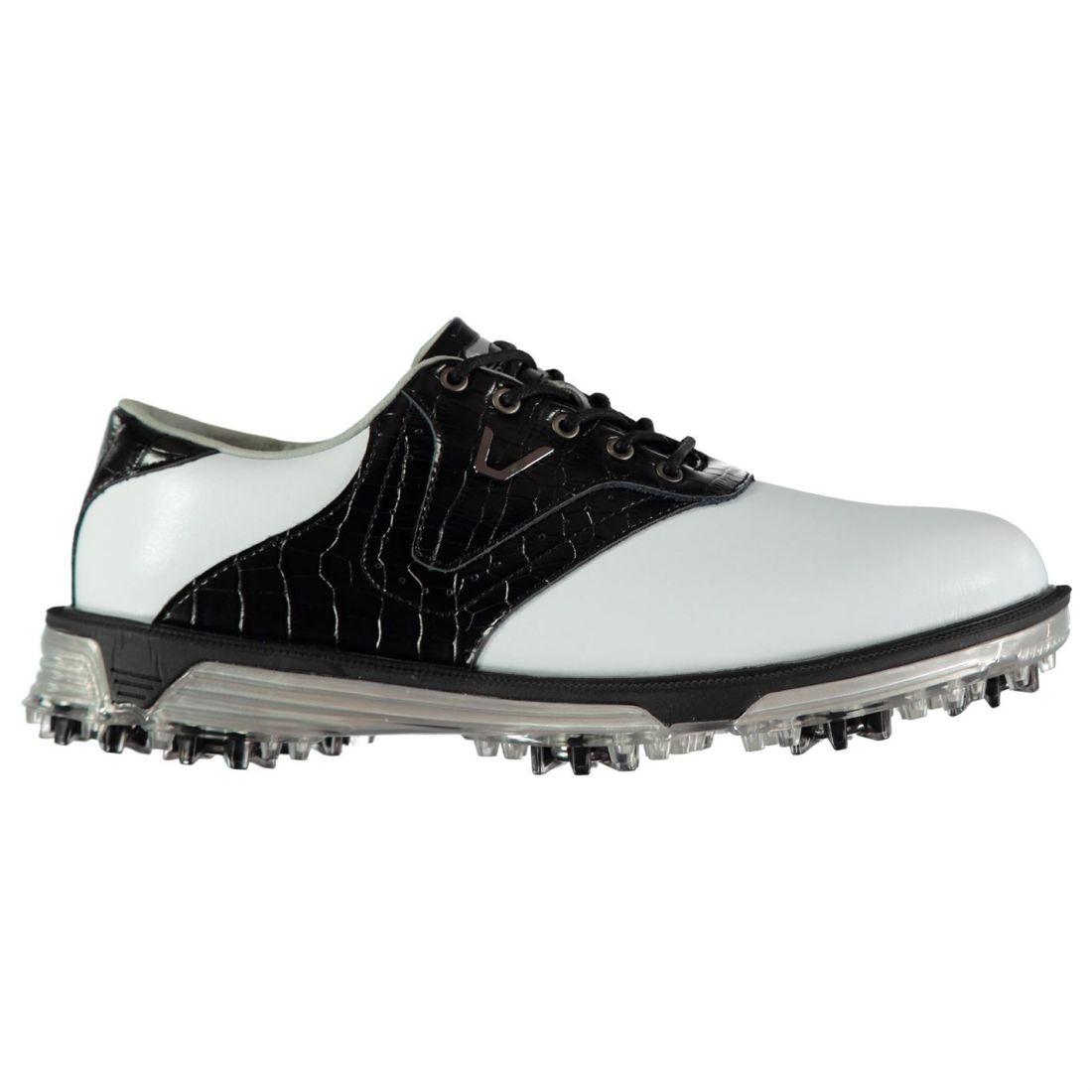 e20cd0a3d01 Slazenger V500 Golf Shoe Mens Gents Spiked Shoes Laces Fastened ...