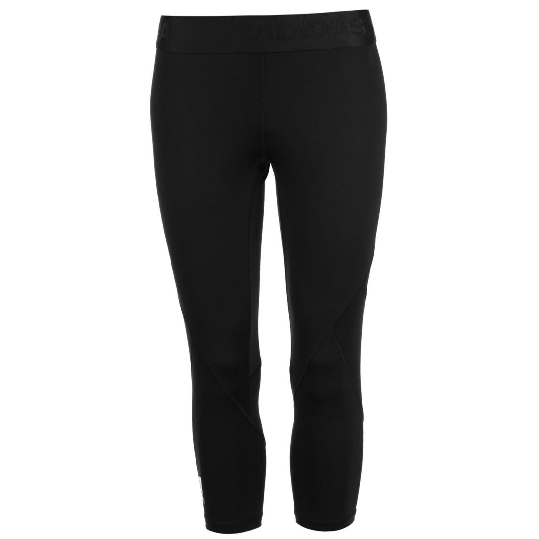 0cc8d7dea8730 adidas Womens Alphaskin Sport Three Quarter Tights Capris Pants Trousers  Bottoms