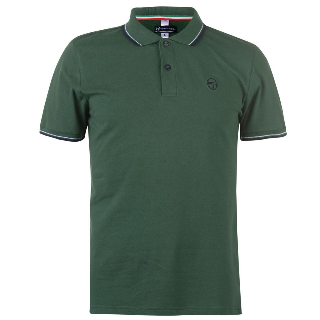 5fc18cb86 Sergio Tacchini Zuck Polo Shirt Mens Gents Classic Fit Tee Top Short ...