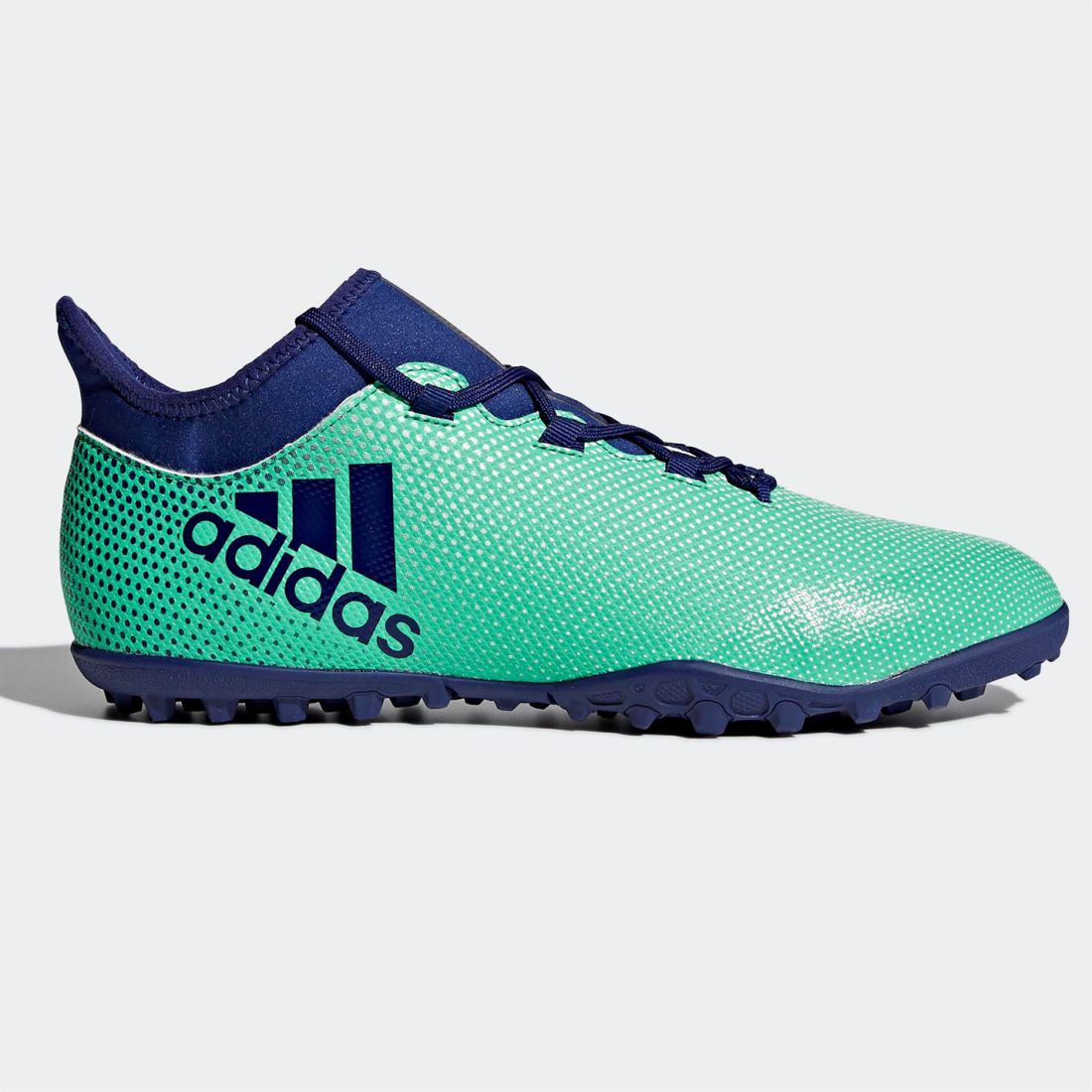 adidas Mens X 17.3 Astro Turf Trainers Football Boots Lace Up ... d014795baf0b