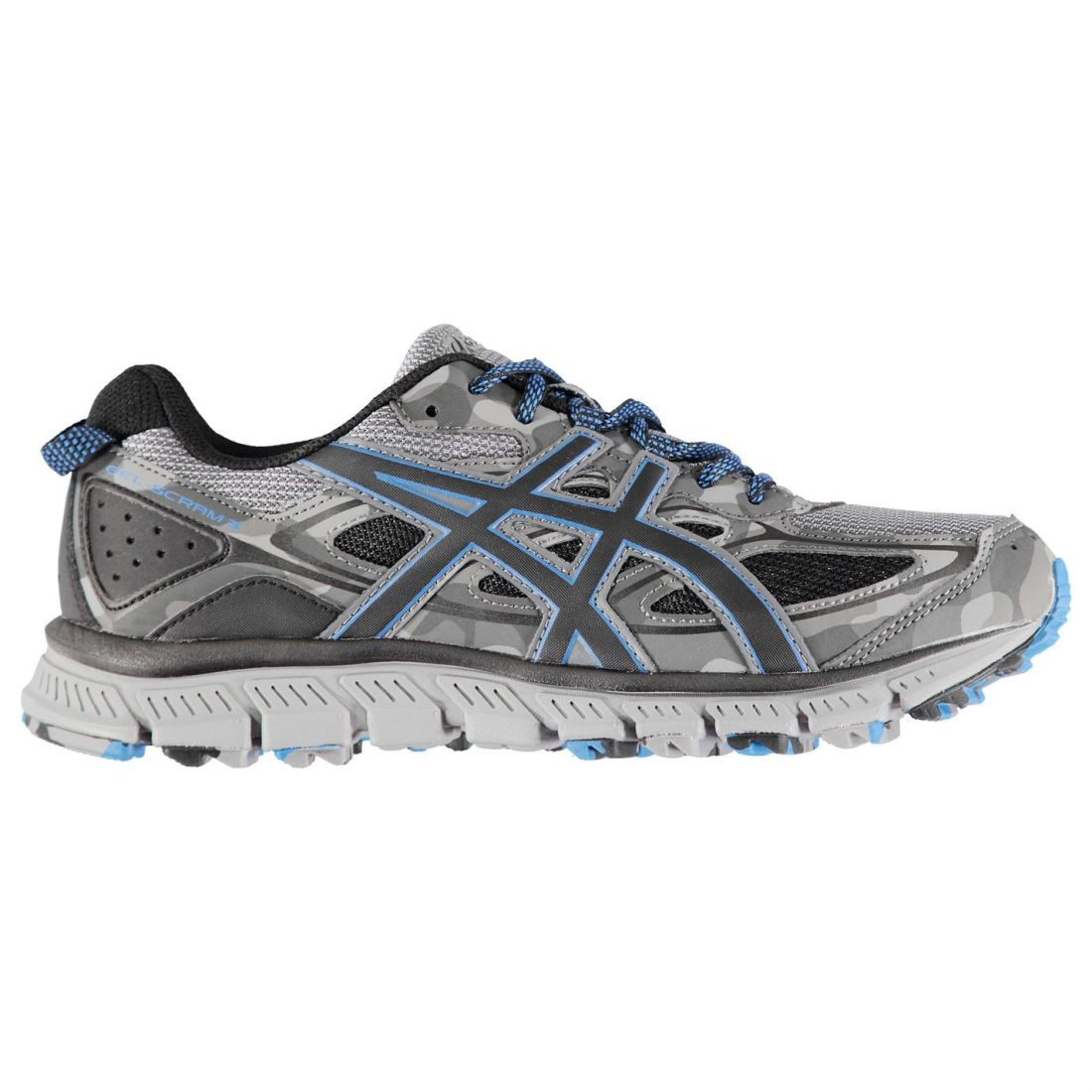 Asics Gel Scram 3 Running shoes Mens Gents Trail Laces Fastened Ventilated