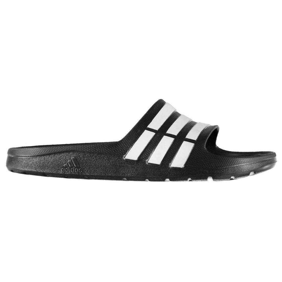 32cfda5392f80 adidas Kids Duramo Junior Sliders Pool Shoes Flip Flops Beach ...