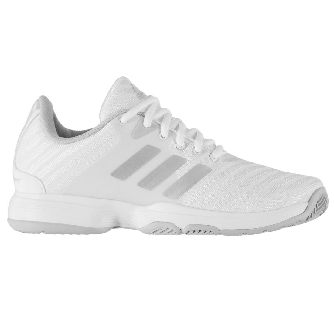 65eebc00d ADIDAS BARRICADE COURT Shoes Ladies Tennis Laces Fastened Ventilated ...