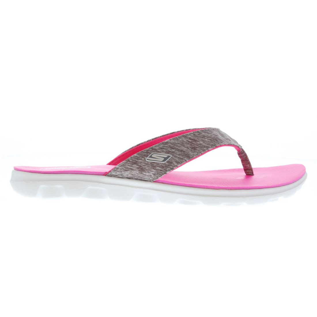 1507640c229b Skechers On The Go Flow Flip Flops Ladies Lightweight Strap Toe Post ...