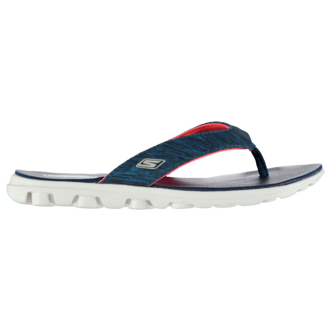 bed0739ea7aa Skechers On The Go Flow Flip Flops Ladies Lightweight Strap Toe Post ...