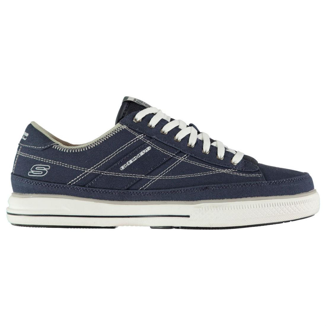 Skechers Arcade Chat Mens Gents Canvas Low 163 39 00