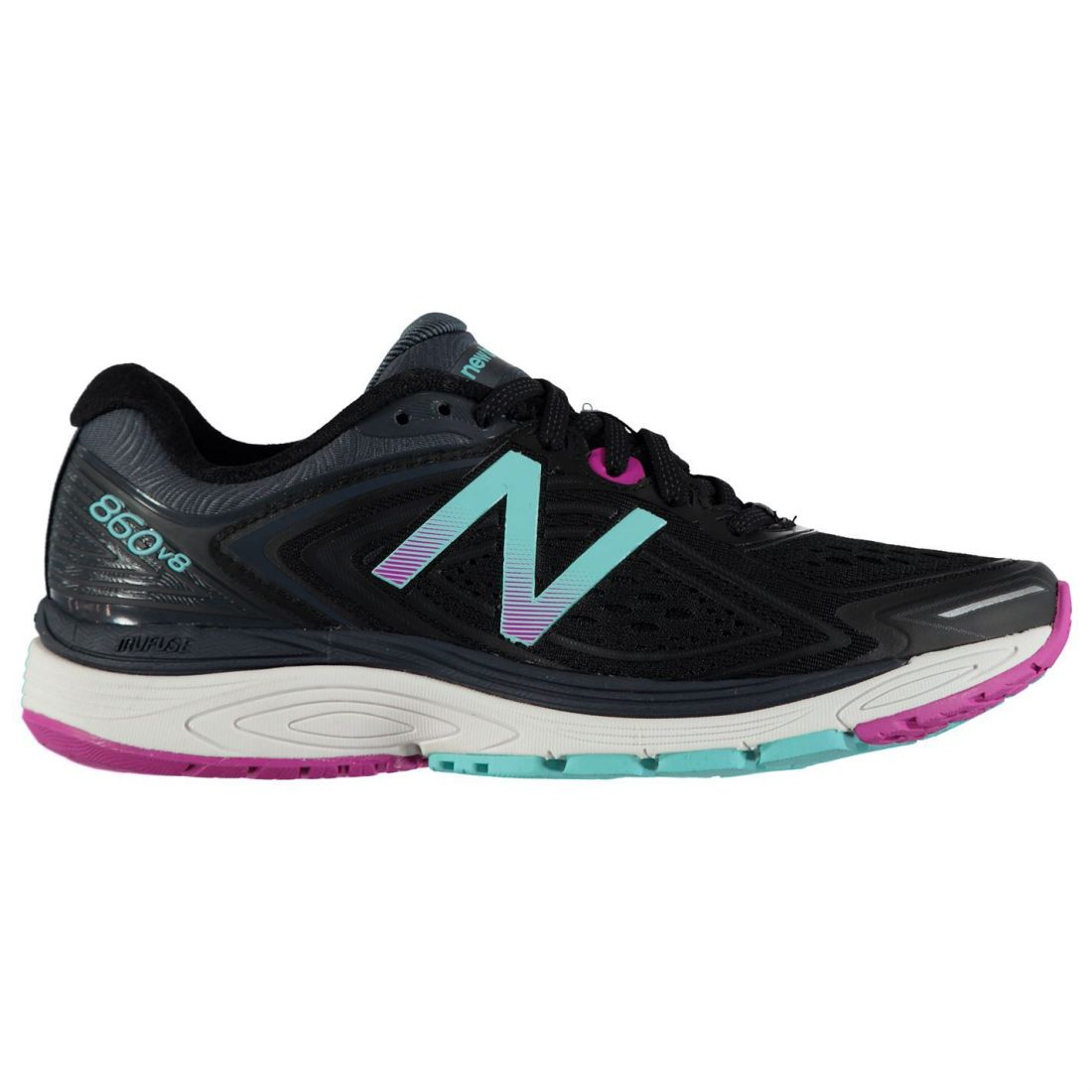 03f3ee7671edb New Balance Womens 860v8 B Running Shoes Road Mesh Upper | eBay