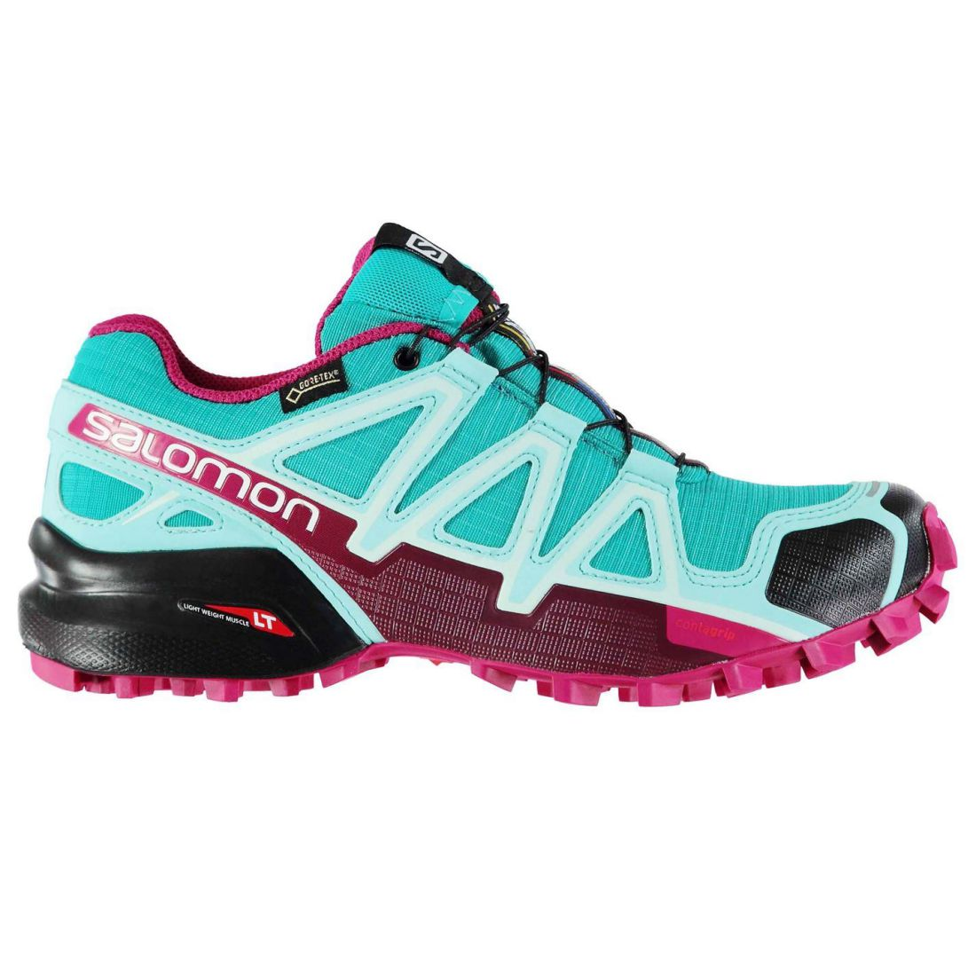 60ef9ef8086a83 Image is loading Salomon-SpeedCross-4-GTX-Trail-Running-Shoes-Womens