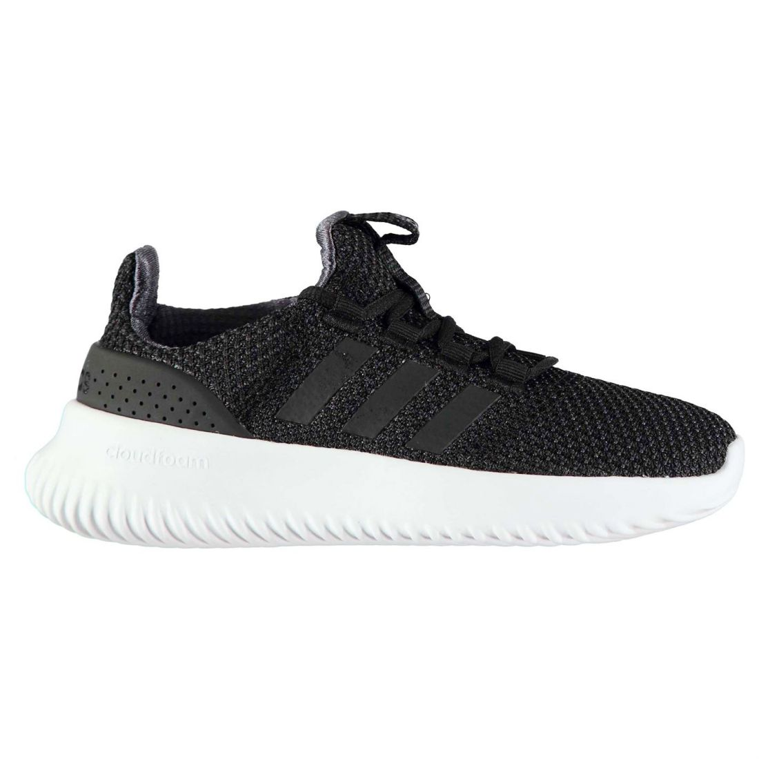 9e53f05dcfef8 adidas Neo Youths Cloudfoam Ultimate Trainers (black) Black 3 for ...