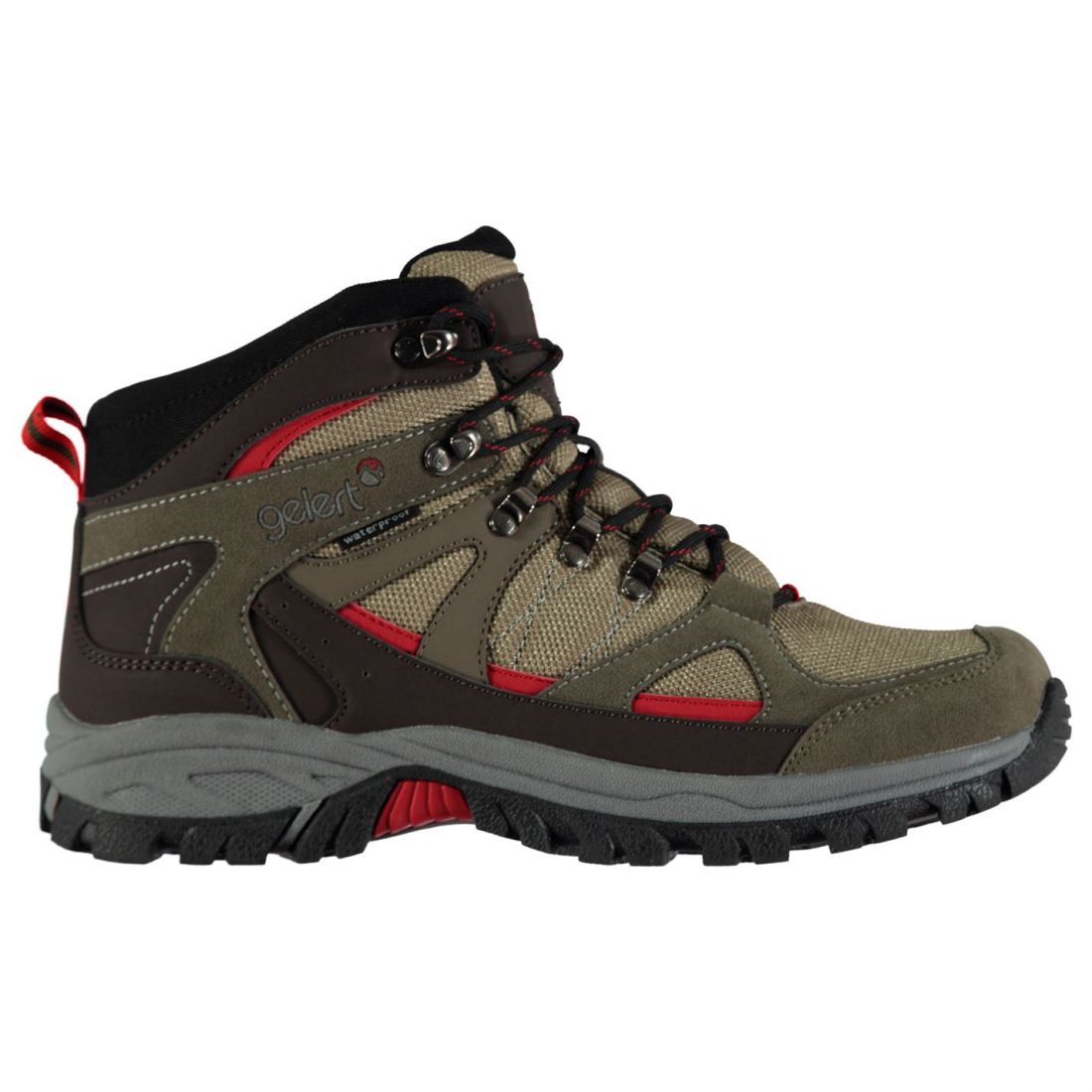 bd2f45582379a1 Image is loading Gelert-Mens-Snowden-Waterproof-Walking-Boots-Lace-Up-