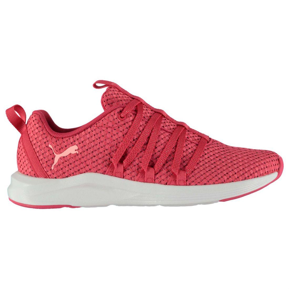 Puma Prowl Weave Sneakers Ladies Ladies Ladies Runners Laces Fastened Padded Ankle Collar af8cc0