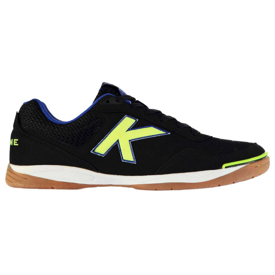 Details about Kelme Mens K Strong Indoor Court Trainers Lace Up Football  Sports Shoes 30adcba71ee3