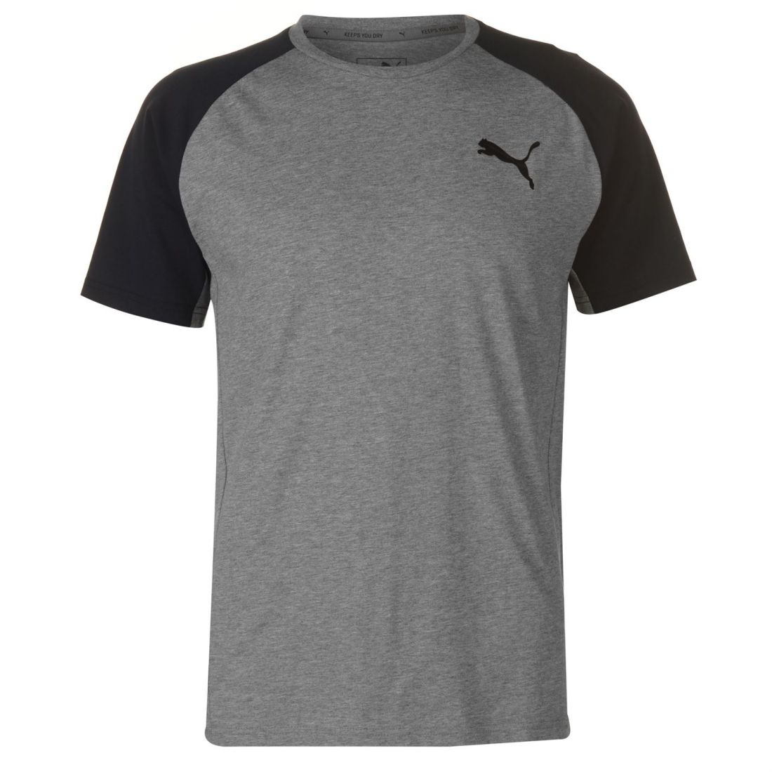 Shirt Puma Neck Sleeve Evostripe Crew Slim Mens Details About Short T Raglan Top Fit Tee qSLpjVGUzM