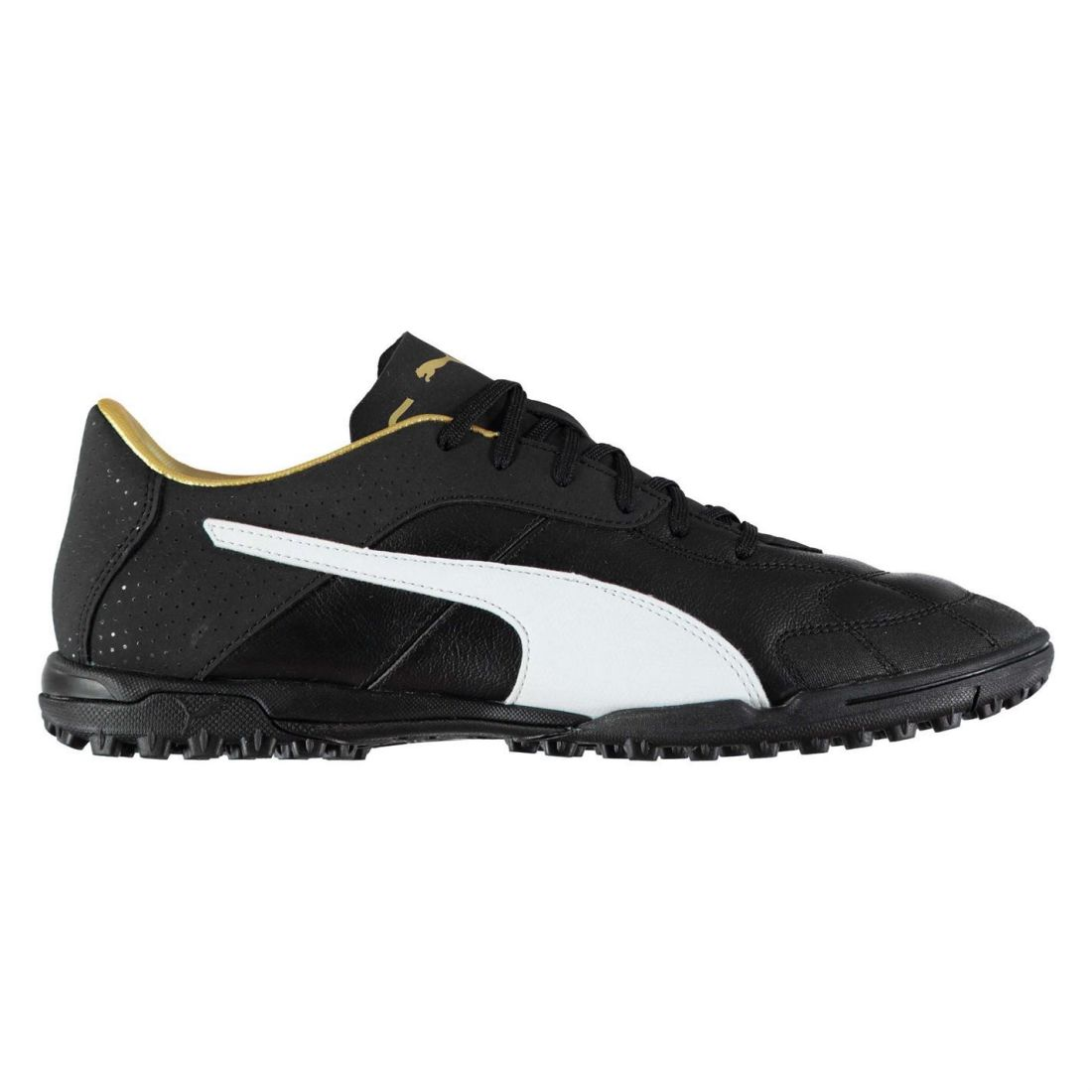 8f4d5827d7cd83 Details about Puma Mens Esito C TF Football Boots Astro Turf Lace Up Padded  Ankle Collar