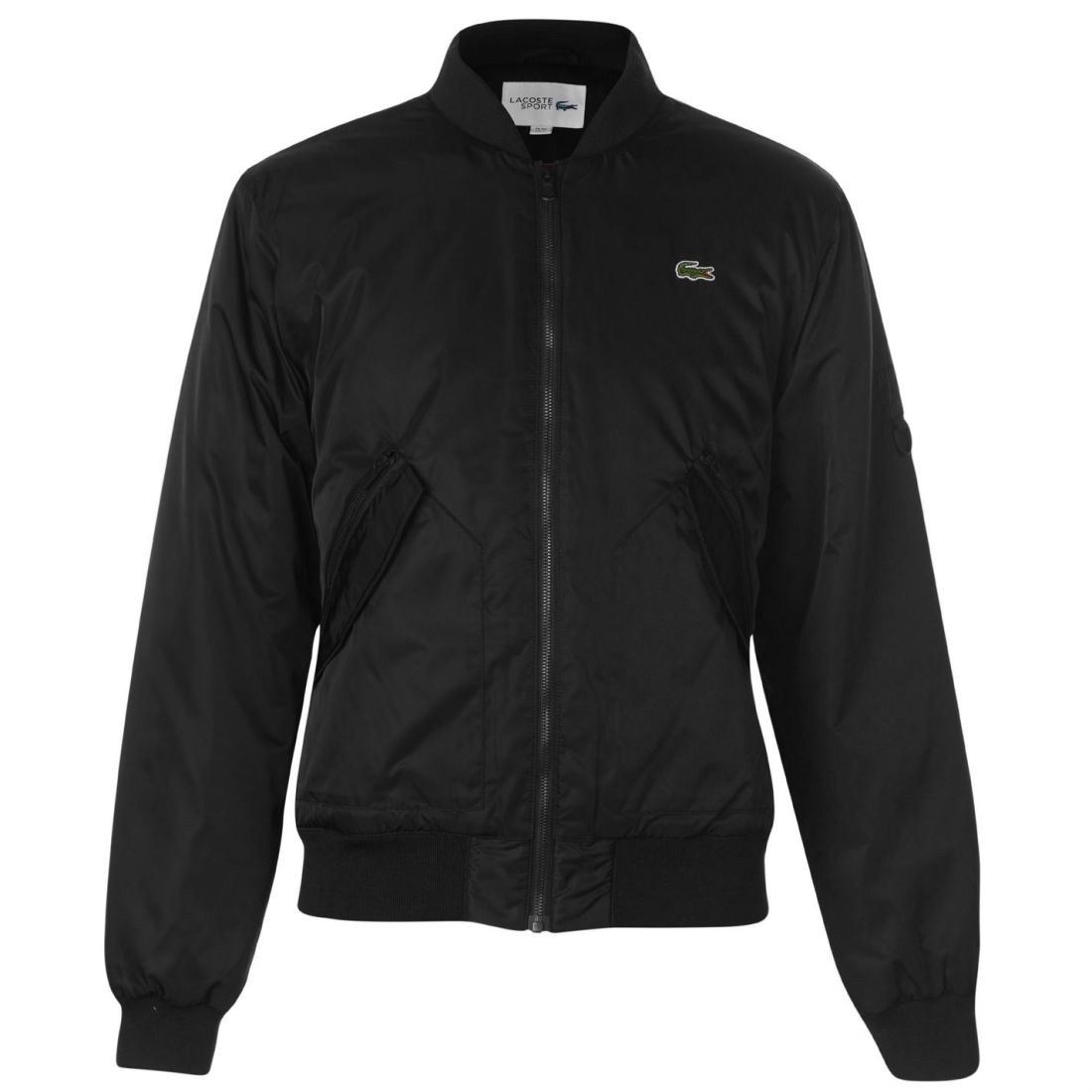 f3cc6ea2a Image is loading Mens-Lacoste-Twill-Bomber-Jacket-Zip-New