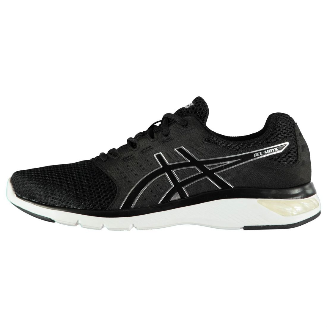 Asics Mens Gel Moya Running Shoes Road Lace Up Breathable ... d739b274d
