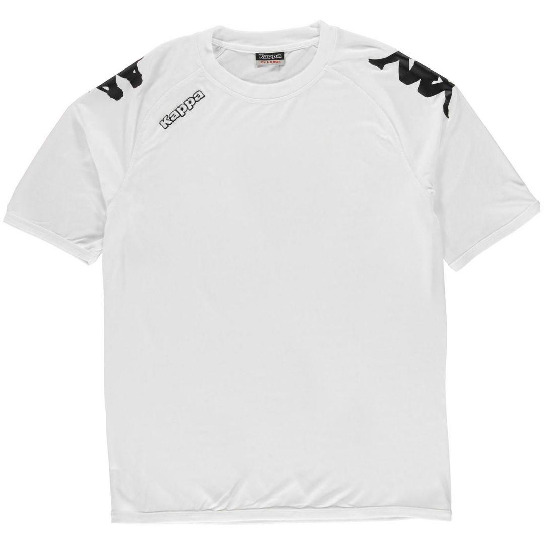 3a0fd2e99092 Details about Kappa Mens Veneto Short Sleeve T Shirt Performance Tee Top  Crew Neck Lightweight