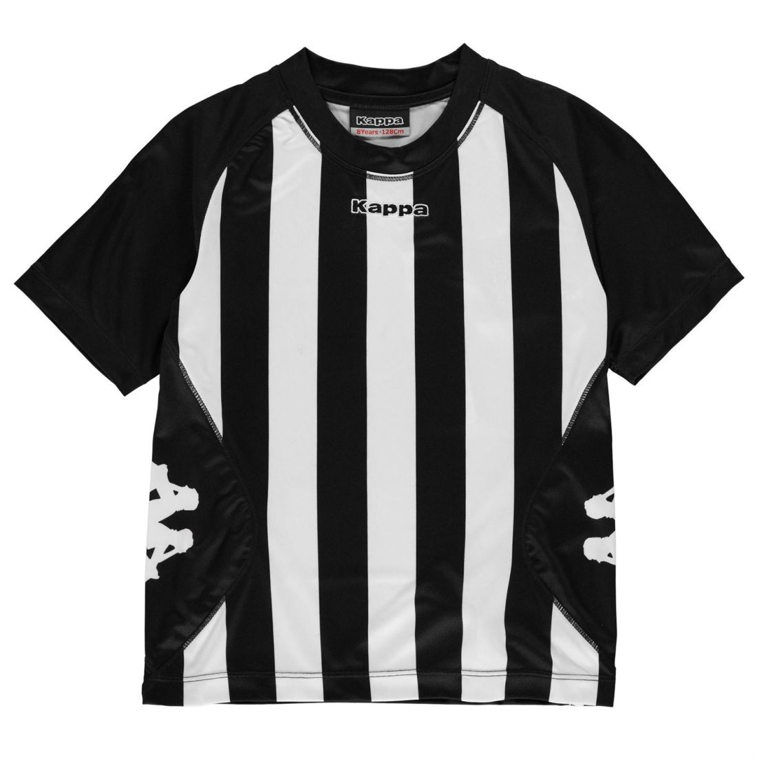 e6b51b14c186 Details about Kappa Kids Boys Barletta Short Sleeve T Shirt Junior  Performance Tee Top Crew