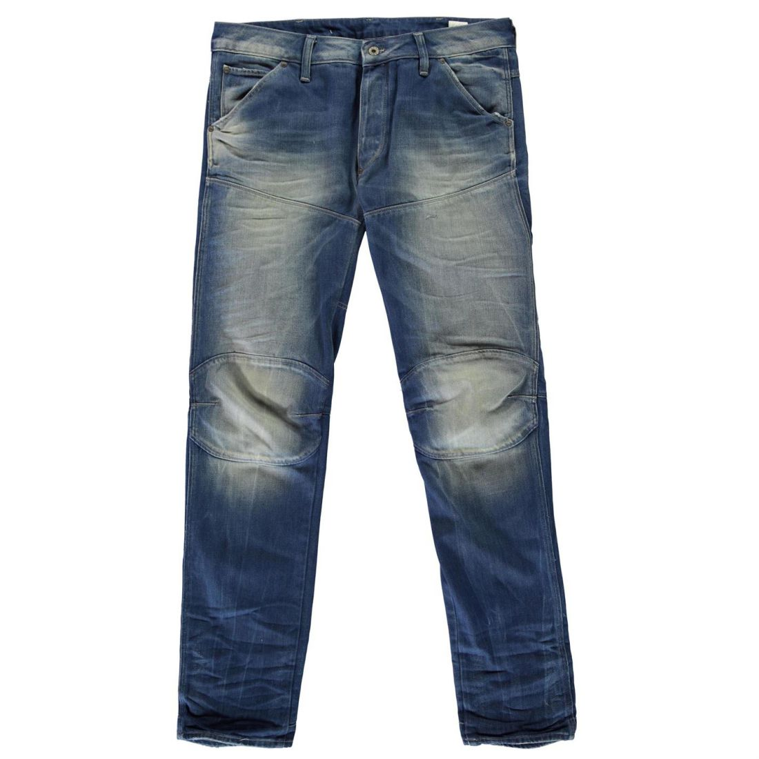 cbc520fa068 G Star Mens 5620 3D Low Tapered Jeans Straight Pants Trousers Bottoms Cotton