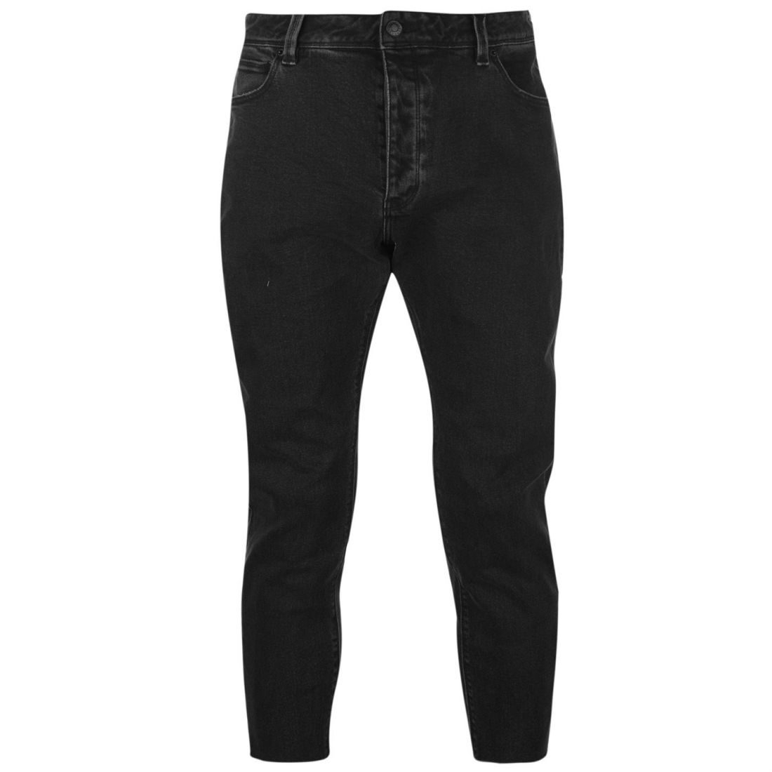 Mens Abrand Cropped Slim Jeans Fit New