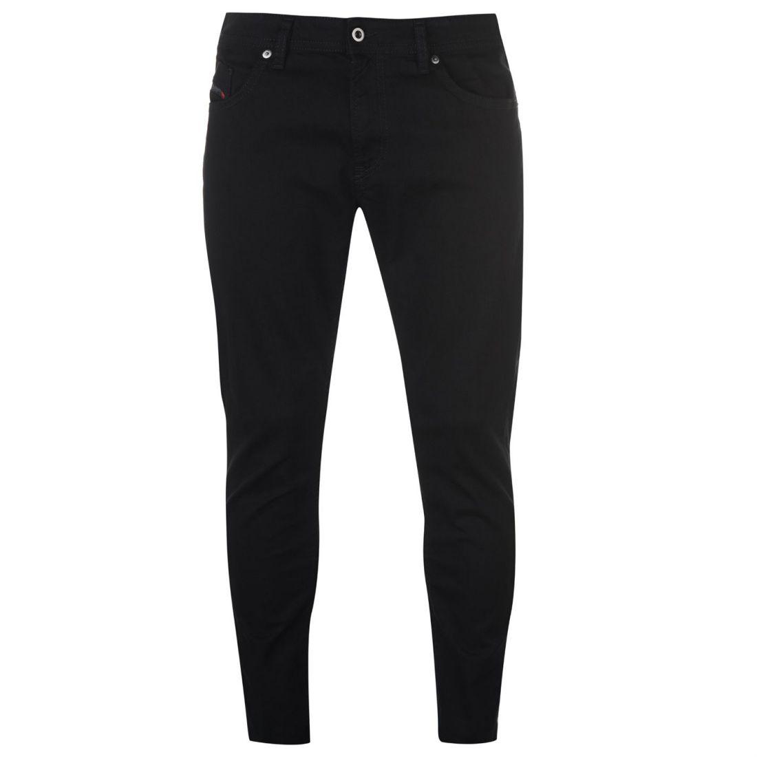 Mens Diesel Thommer Jeans Slim Zip New