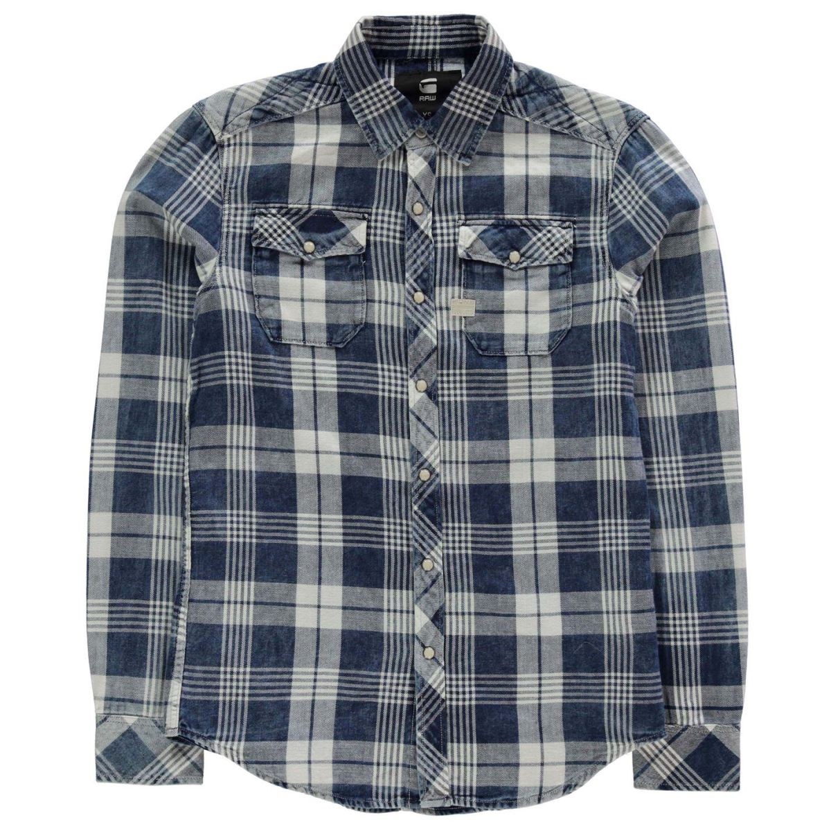 890d9a5ce7 Details about G Star Mens Landoh Shirt Long Sleeve Casual Lightweight  Cotton Print All Over