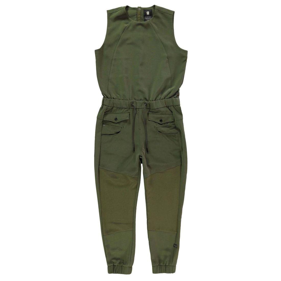 45a8c2c06e9 Image is loading G-Star-Womens-Army-Radar-Jogging-Jumpsuit-Sleeveless-