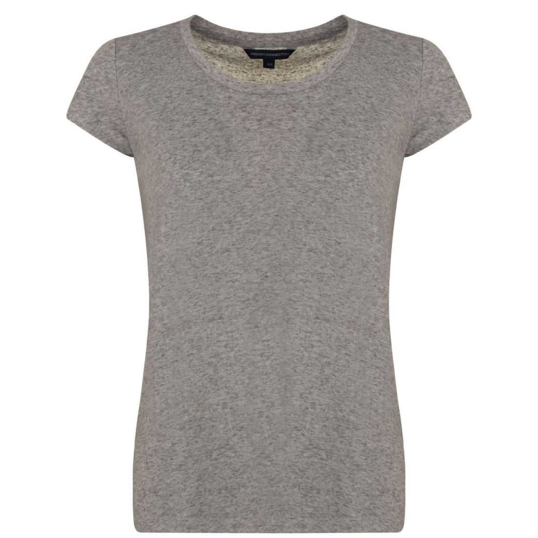 damen French Connection Marl T Shirt Crew Neck Short Sleeve New