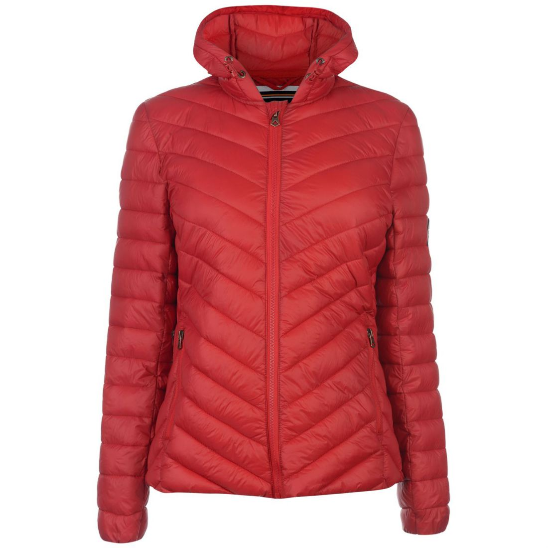 Womens SoulCal Micro Bubble Jacket Padded Long Sleeve New ...