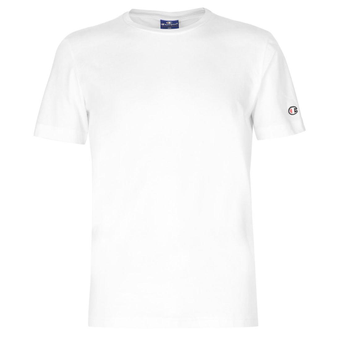 001316c6 Details about Mens Champion Basic T Shirt Crew Neck Short Sleeve New