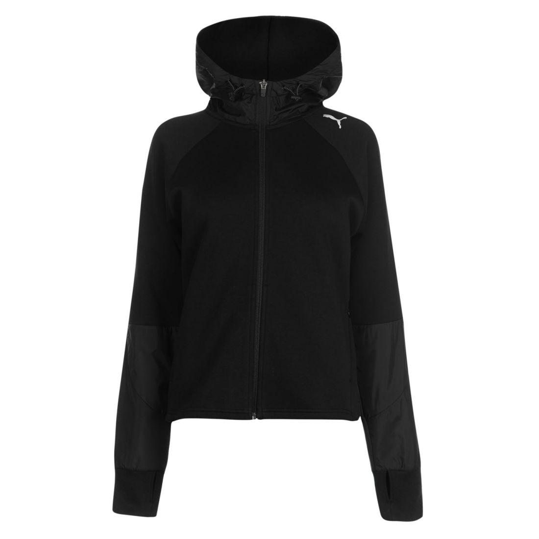 Details about Puma Womens Evostripe Hooded Jacket Zip Hoodie Coat Top Hoody  Full Stripe b50320168706
