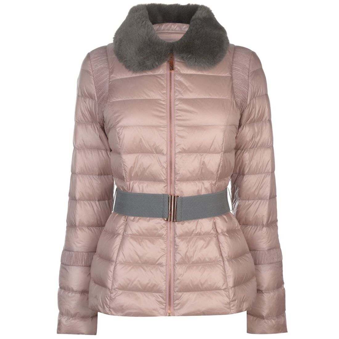 5eab19e8a775 Details about Womens Ted Baker Padded Coat Formal Long Sleeve New
