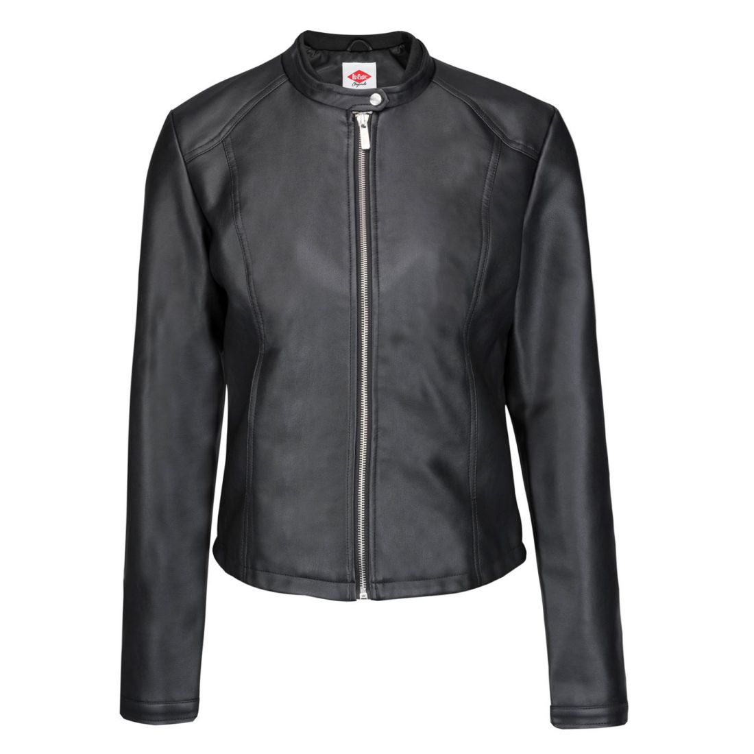 29a219eef Details about Lee Cooper Classic PU Jacket Ladies Leather Coat Top