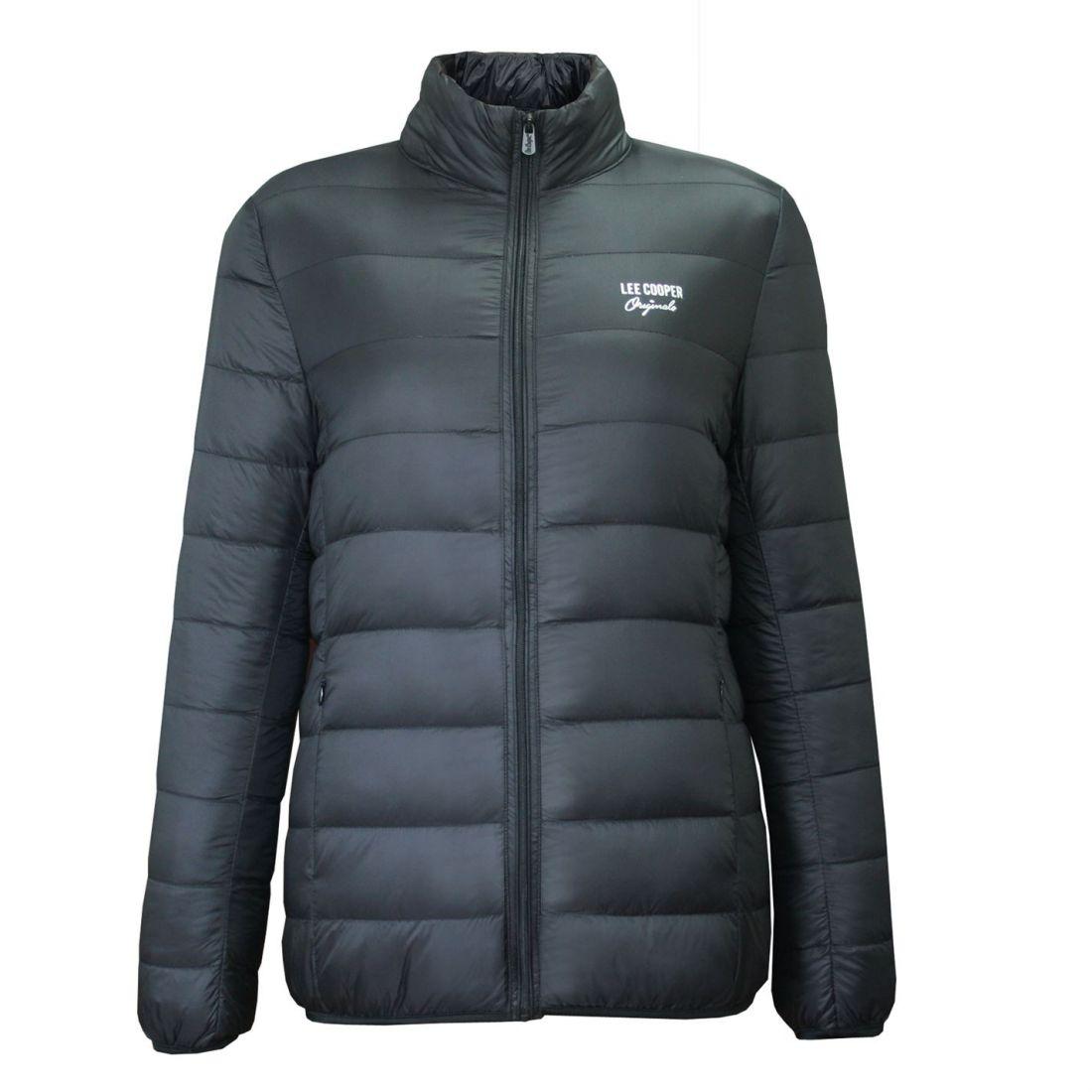 d33ba2407c Lee Cooper Womens Originals Xlite Down Jacket Micro Bubble Coat Top ...