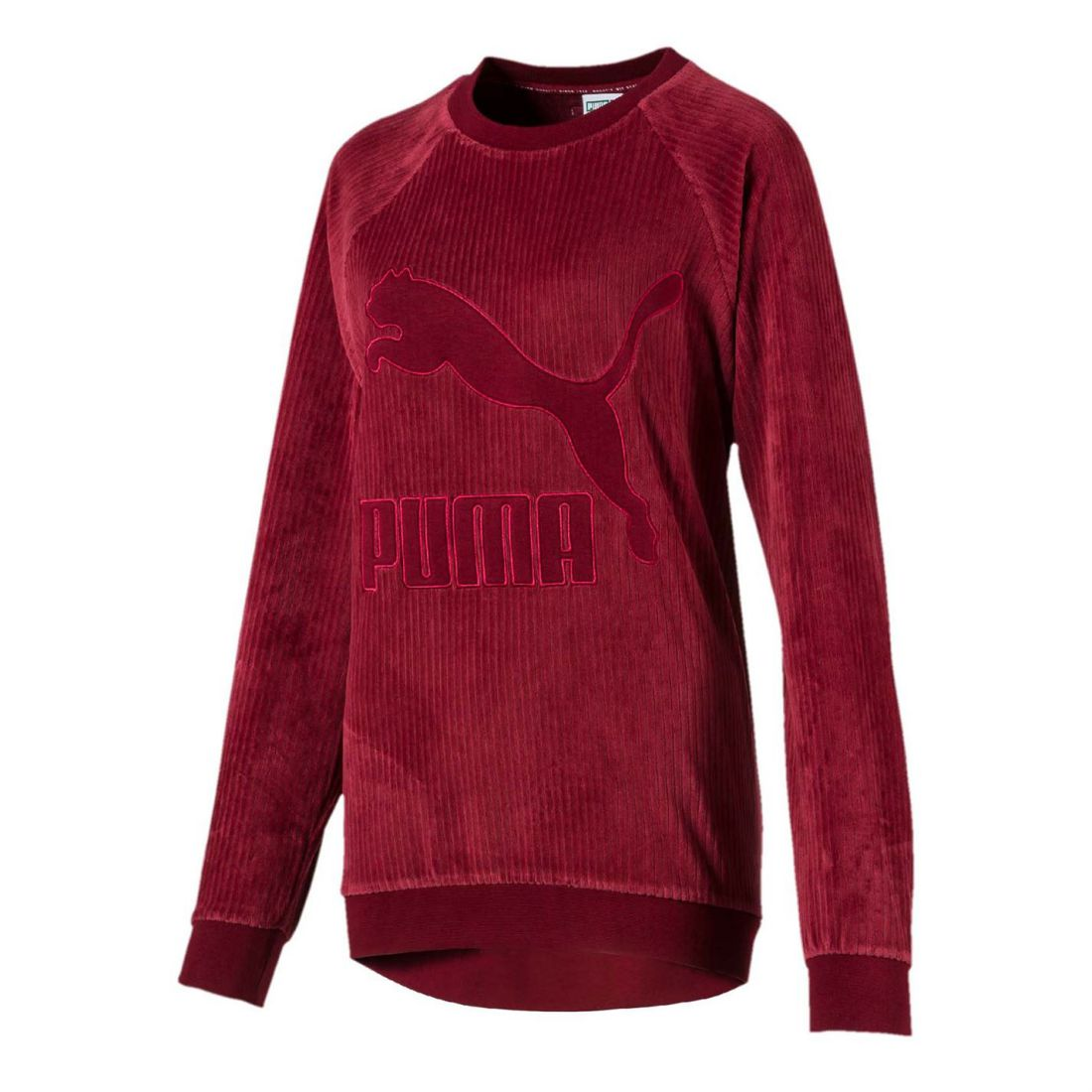 49f4f84986 Details about Womens Puma Downtown Crew Neck Sweatshirt Sweater Long Sleeve  New