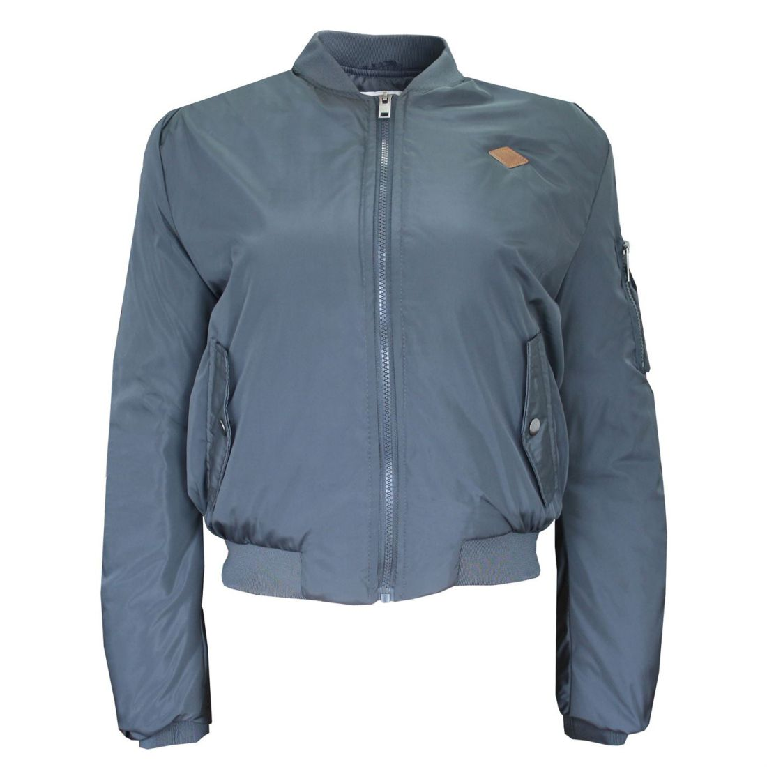 f72e9f311 Details about Lee Cooper Bomber Jacket Ladies - Midweight Coat Top Zip  Zipped