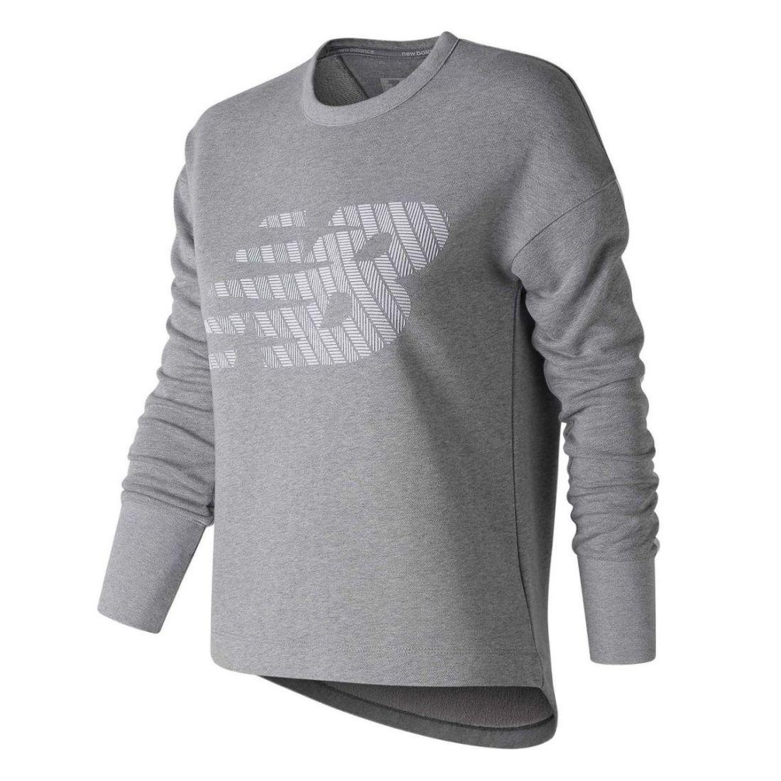 e36052e99e99c Image is loading New-Balance-Womens-Fleece-Crew-Top-Sweater-Jumper-